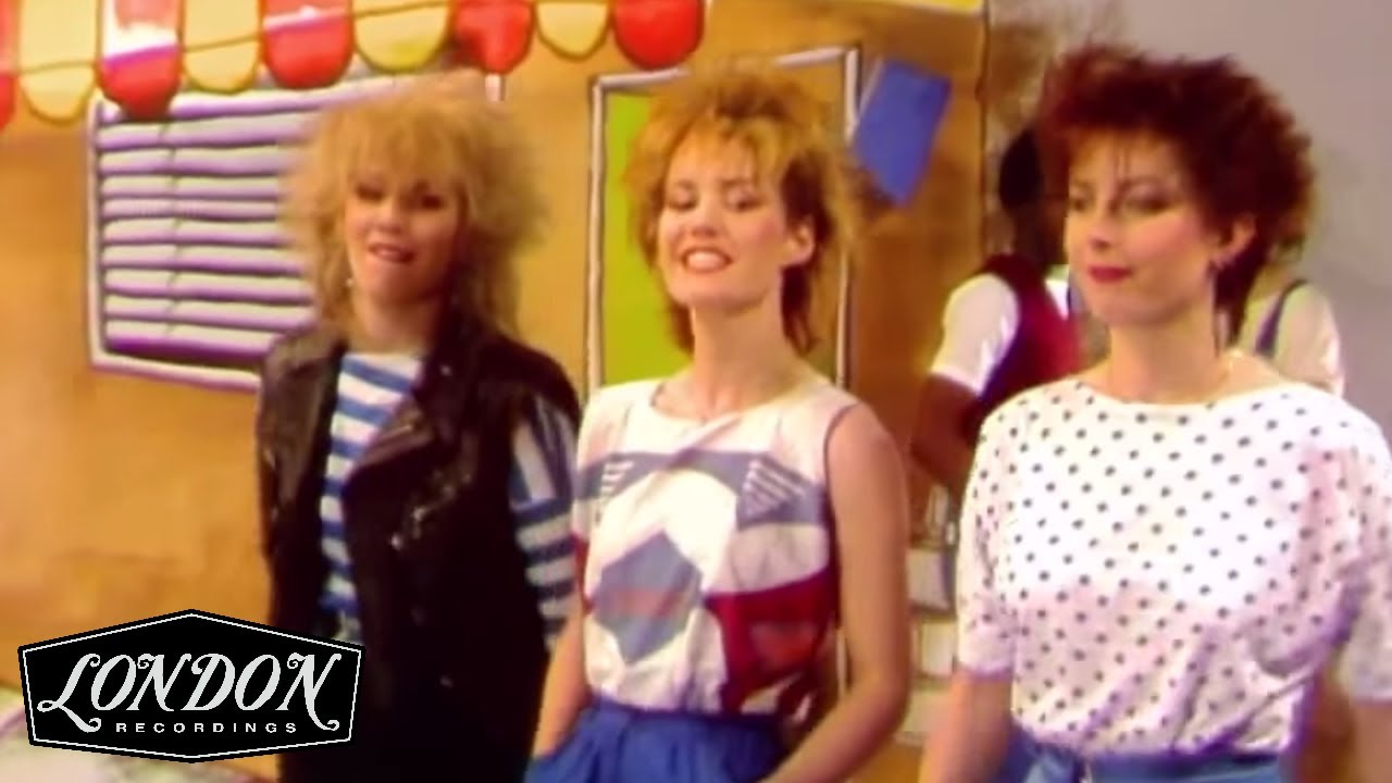 Bananarama - Really Sayin' Something (OFFICIAL MUSIC VIDEO)
