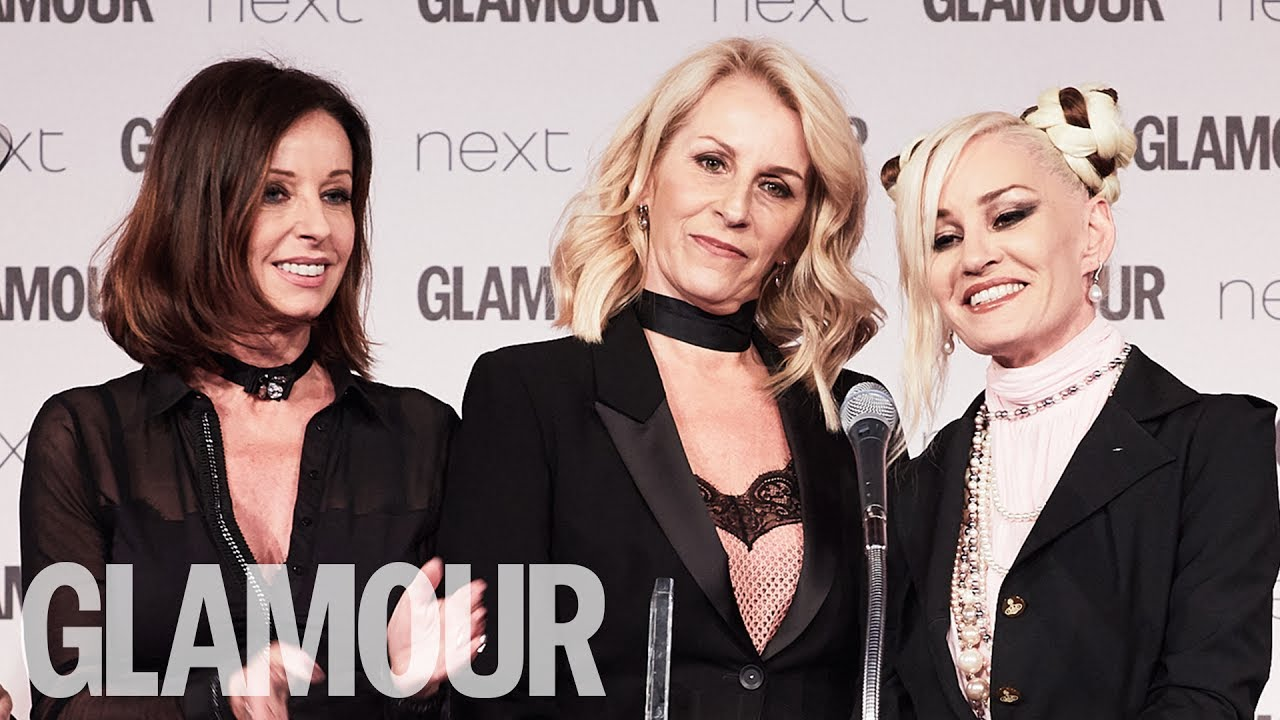 Bananarama: Icons | Women of the Year Awards 2017 | Glamour UK
