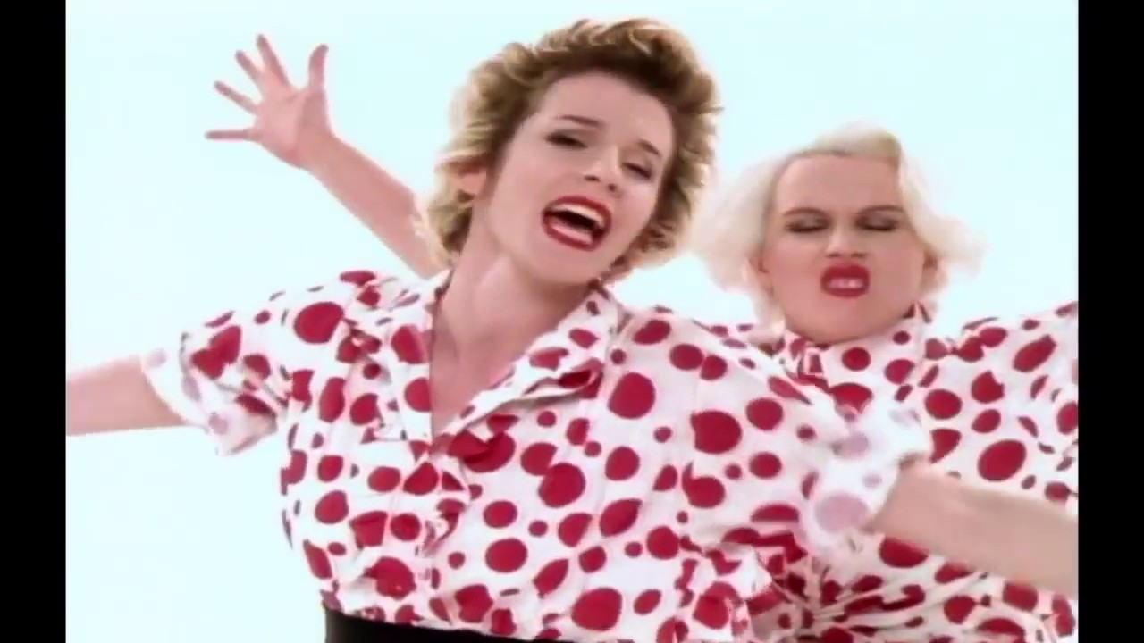 Bananarama - Help (Comic Relief) (OFFICIAL MUSIC VIDEO)