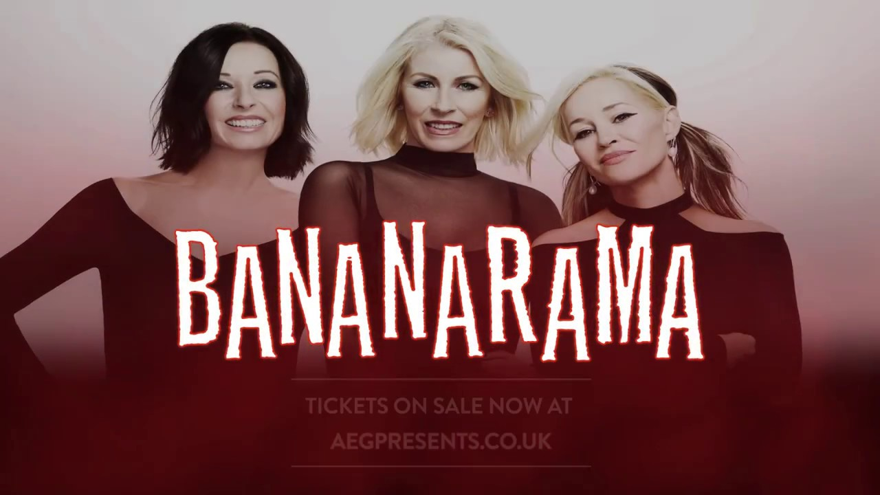 Bananarama - Original Line Up UK Tour 2017